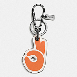 COACH F66137 Okay Key Ring ORANGE