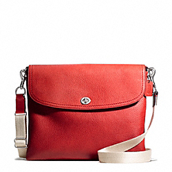 COACH PARK LEATHER TABLET CROSSBODY - ONE COLOR - F66159