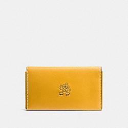 COACH F66440 Mickey Phone Wallet FLAX