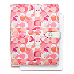COACH DAISY KALEIDOSCOPE PRINT TURNLOCK IPAD CASE - ONE COLOR - F66477