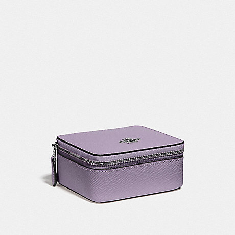COACH F66502 JEWELRY BOX LILAC/SILVER