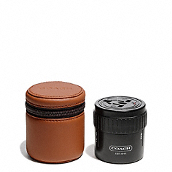 COACH F66576 Camden Leather Travel Adaptor