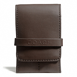 COACH F66577 Camden Leather Grooming Kit