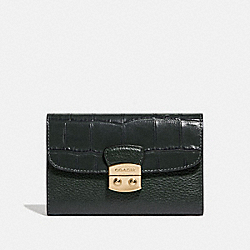 COACH F66629 Medium Envelope Wallet IVY/IMITATION GOLD
