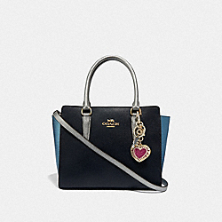 COACH F66633 - KEITH HARING HEART BAG CHARM GOLD/GOLD