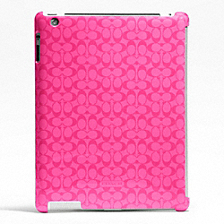 COACH F66679 Saturated Signature Molded Ipad Case