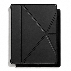 COACH F66725 Bleecker Leather Ipad 4 Case BLACK