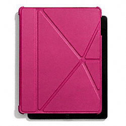 COACH F66725 Bleecker Leather Ipad 4 Case FUCHSIA