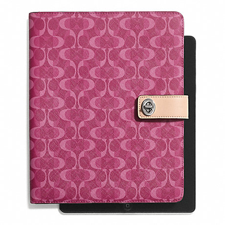 COACH f66804 PEYTON DREAM C TURNLOCK IPAD CASE