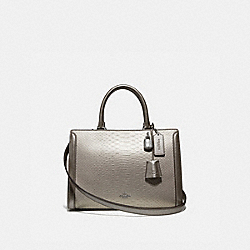 COACH F66852 Zoe Carryall PLATINUM/SILVER
