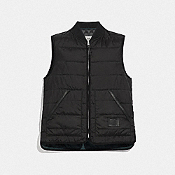 COACH F67000 - HACKING VEST BLACK