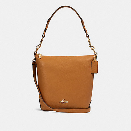 COACH F67025 MINI ABBY DUFFLE IM/LIGHT-SADDLE