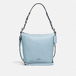 MINI ABBY DUFFLE - F67025 - SV/PALE BLUE