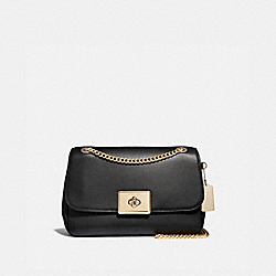 LARGE CASSIDY CROSSBODY - F67028 - BLACK/IMITATION GOLD