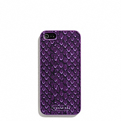 COACH F67057 Taylor Snake Print Iphone 5 Case