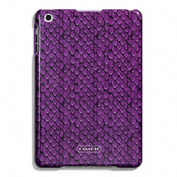 COACH F67060 Taylor Snake Print Molded Mini Ipad Case