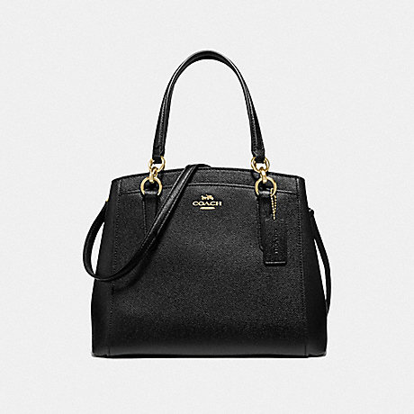 COACH F67091 MINETTA CROSSBODY BLACK/IMITATION GOLD