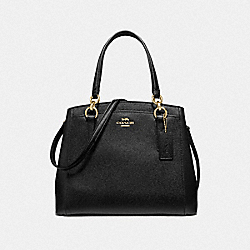 MINETTA CROSSBODY - F67091 - BLACK/IMITATION GOLD