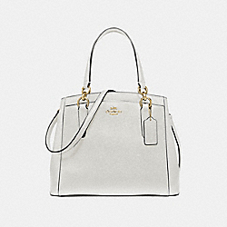 MINETTA CROSSBODY - F67091 - CHALK/IMITATION GOLD