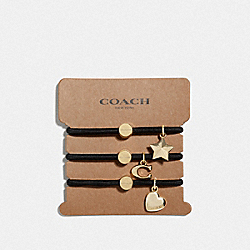 COACH F67146 Coach Hairties MULTICOLOR