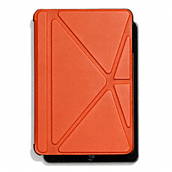 COACH F67156 Bleecker Leather Mini Ipad Case SAMBA