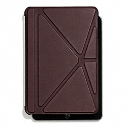 COACH F67156 Bleecker Leather Mini Ipad Case CORDOVAN