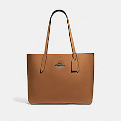SMALL HUDSON TOTE - F67253 - LIGHT SADDLE