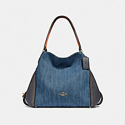 COACH F67331 Edie Shoulder Bag 31 B4/MEDIUM DENIM