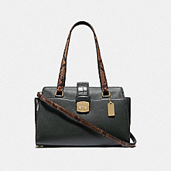 COACH F67451 - AVARY CARRYALL IVY/IMITATION GOLD