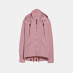 COACH F67466 Solid Windbreaker PRAIRIE PINK