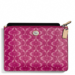 COACH F67517 - PEYTON DREAM C MEDIUM TECH POUCH ONE-COLOR