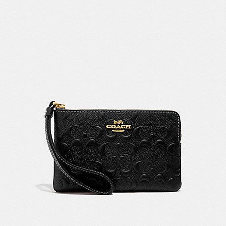 Signature Leather Corner Zip F67555 (Add-on)