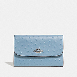 COACH F67594 Medium Envelope Wallet CORNFLOWER/SILVER