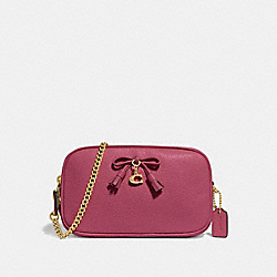 COACH F67694 Crossbody Pouch STRAWBERRY/LIGHT GOLD