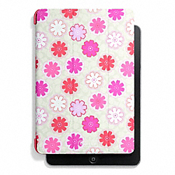 COACH F67812 Floral Print Trifold Ipad Case