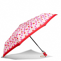COACH F67843 Floral Print Umbrella