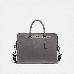 COACH F68029 Beckett Portfolio Brief NI/HEATHER GREY