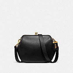 COACH F68135 - FRAME SADDLE BAG B4/BLACK