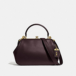 COACH F68136 Frame Bag B4/OXBLOOD