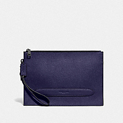 COACH F68154 Structured Pouch QB/CADET