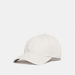 COACH F68401 - VARSITY C PATCH HAT CHALK