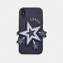 COACH F68432 Iphone Xr Case With Oversized Star CORNFLOWER MULTI