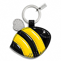 COACH F68558 Bee Motif Key Chain