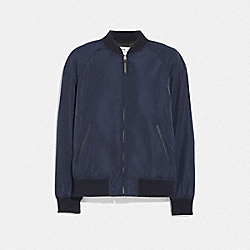 COACH F68805 - LIGHTWEIGHT VARSITY JACKET NAVY