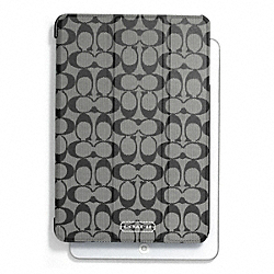 COACH F69078 Peyton Signature Trifold Ipad Mini Case