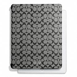 COACH F69079 Peyton Signature Trifold Ipad Case