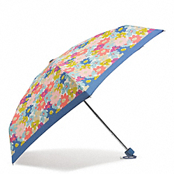 COACH F69723 - PEYTON FLORAL MINI UMBRELLA ONE-COLOR