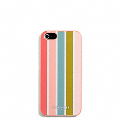 COACH F69731 Peyton Multistripe Molded Iphone 5 Case