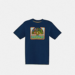 COACH F69748 - ATARI T-SHIRT NAVY
