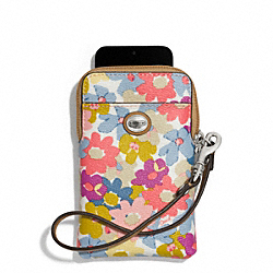 COACH F69762 Peyton Floral Universal Phone Case
